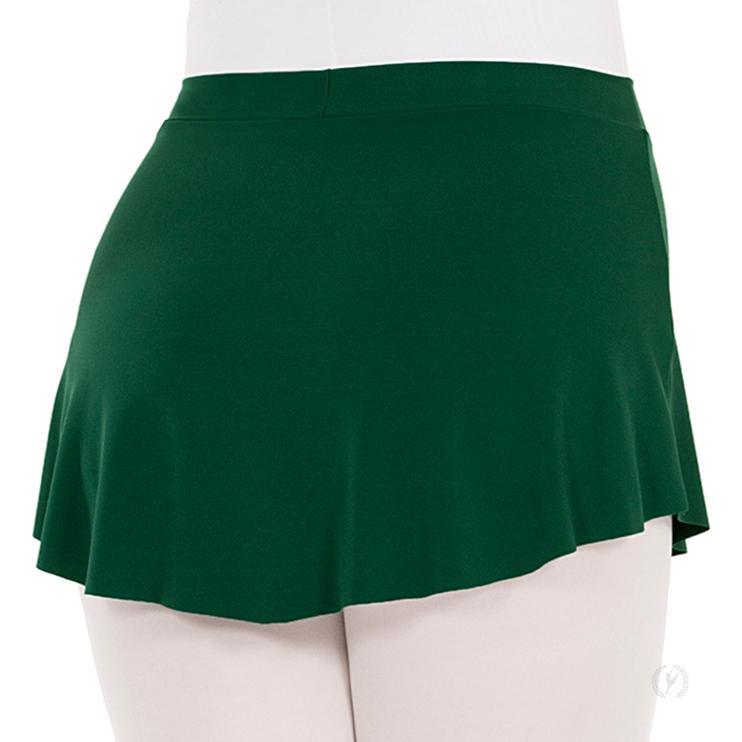 White Adult Pull-on Ballet Skirt