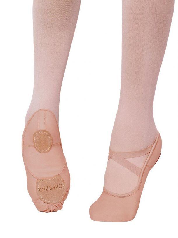 Capezio 2039 Split Sole Canvas Ballet Slipper NIB